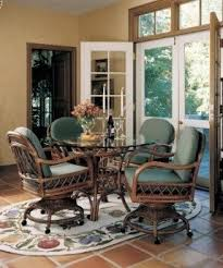dinette sets chairs with casters. antigua swivel-tilt caster dining set gaming table - assembled and cushions made in dinette sets chairs with casters