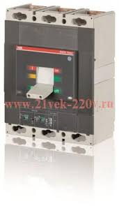 <b>Автоматический выключатель ABB</b> (АББ) Tmax T6N 800 ...