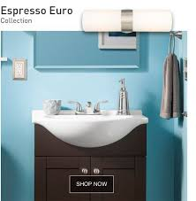 bathroom collection lowes. the espresso euro collection features a bathroom vanity with marble top and integrated bowl. lowes