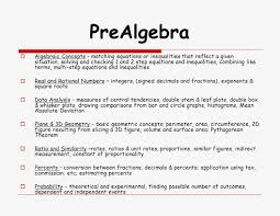 2 prealgebra algebraic concepts matching equations