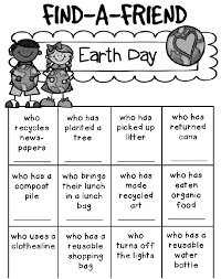 Earth Day Printable Worksheets | Cool Images