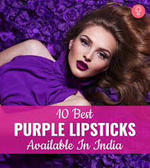 10 best purple lipsticks available in