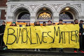 a white baltimore city teacher wanting to show her solidarity with the black lives matter movement has found her request to have the words black