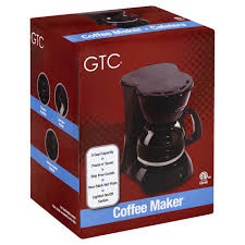 5 Cup Coffee Maker Gtc 5 Cup Coffee Maker Black Shop Coffee Makers At Heb