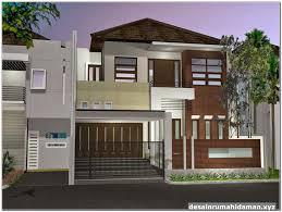 142 gambar contoh desain rumah minimalis modern