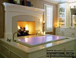 best ideas for placing fireplace in the bathroom cozy interior bathroom with fireplace designs