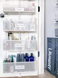 How To Organize A Bathroom Closet Polished Habitat