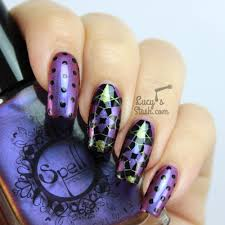 Kaleidoscope Nails with Spell Polish + TUTORIAL - Lucy's Stash