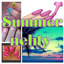 Letní Nehty Léto 2016 Pavlinqua111blogercz
