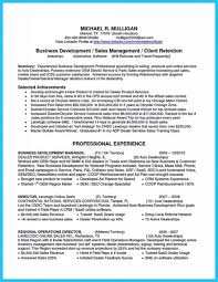 Resume Sample For Business Development Executive Best of Business Development Manager Resume Format Executive Objective Pdf