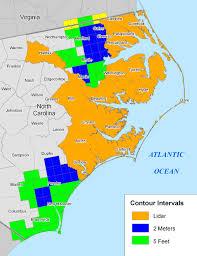 More Sea Level Rise Maps Of North Carolina