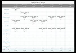 How To Make Schedules For Employees Free Employee Work Schedule Template For Excel Download