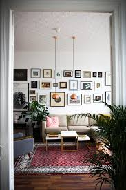 living room from elif kücük s home tour on design sponge