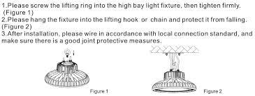 philips lumileds warehouse lighting led high bay light w dimmable ufo led high bay light
