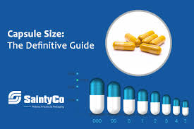 Capsule Size Chart Mg Capsule Size The Definitive Guide Saintytec