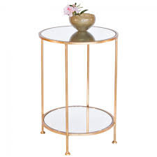 white end table narrow coffee and side wire bedside low glass natural wood inch tall round