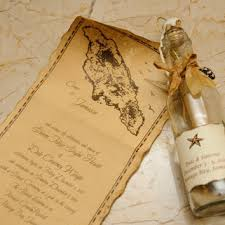 message in a bottle wedding invitations. message in a bottle wedding invitation with wax seal or save the date (set of invitations