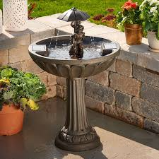 Garden Fountain Stunning Water Fountain Lowes Stone Garden