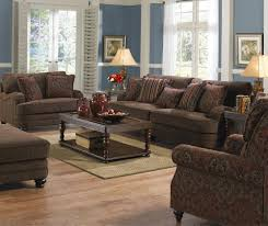 Living Room Chair And A Half Jackson Furniture Brennan Formal Chair And A Half And Ottoman For