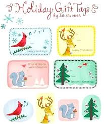 Holiday Name Holiday Name Tags Tag Gift For Teachers Biolabs