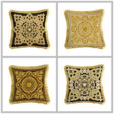 European <b>Luxury</b> Back Cushion Cover High Quality Double Sides ...