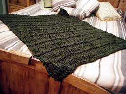 Olive Throw Blanket