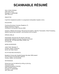 Breathtaking What Is A Scannable Resume 37 On Free Online Resume Builder  With What Is A