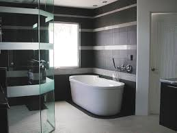 Small Picture Black and White Bathroom Wall Tile Designs Gallery