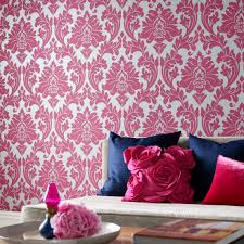Pink Flower Wallpaper For Bedrooms Fun Fancy And Floral Pink Damask Class Wallpapers
