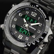 digital watches casio timex nixon infantry mens digital quartz wrist watch black sport chronograph stainless steel