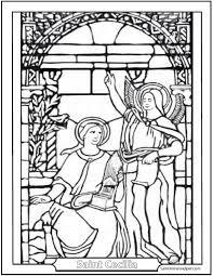 Catholic Saint Coloring Pages