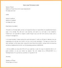 Commercial Lease Agreement Sample Unique Landlord Termination Letter To Tenant Sample Lease Template Doc