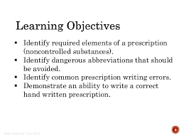 Prescription Writing 101 For Medical Students
