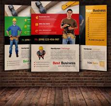 Handyman Flyer Template Beauteous Eco Enviame Template Page 48 Of 48 Create Amazing Posters