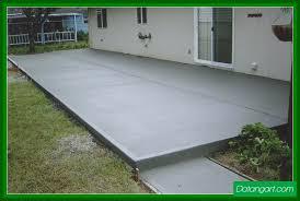 painting concrete patio slab ideas