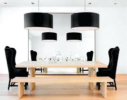 view in gallery black drum pendants bring grandeur to the dining room light with crystals oversized