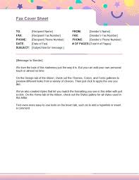 Fax Cover Sheet Template Google Docs Grupofive Co