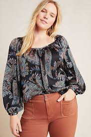 <b>Plus Size Tops</b> for Women | Anthropologie