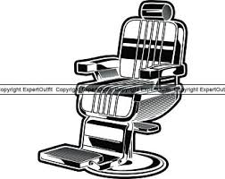 Beauty salon chair vector outline icon isolated on transparent background, high quality linear. Salon Chair Clipart Etsy