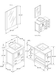intricate standard bathroom vanity dimensions sink base cabinet with regard to sizes prepare mirror size for