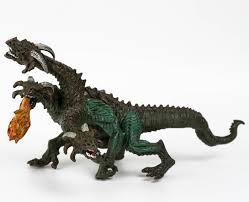 Фигурка Derri Animals Трёхглавый <b>Дракон</b> Змей Горыныч 84111 ...