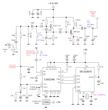 circuit zone com electronic projects electronic schematics diy 500mw pll fm transmitter 88 108mhz