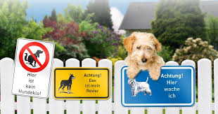 Warnschild Hund Oder Hunde Verbotsschilder Online Gestalten