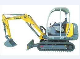 gehl 353 373 compact excavator parts manual m pay for gehl 353 373 compact excavator parts manual