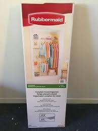 rubbermaid plete closet organizer