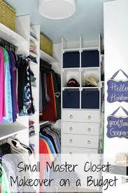 Walk In Closet Best 25 Small Master Closet Ideas Only On Pinterest Closet
