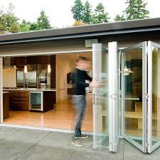 bifold doors accordion folding glass multi slide swing doors windows lacantina doors