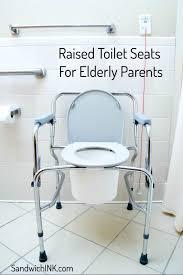 Raised Toilet Seats Elderly Parents Appreciate! - SandwichINK for ...