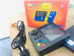 ⭐Máy chơi game cầm tay 2 người chơi sup 500 in 1 -Tặng tay cầm chơi game  kết nối tivi TV- Máy chơi game 4 nút bản nâng cấp sup 400 trò