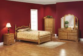 Best Design Idea Red Country Bedroom Wooden Furniture Decobizzcom